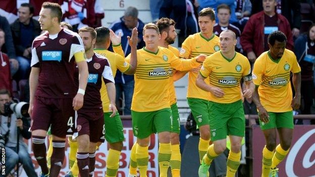 Hearts host Celtic in the Scottish Cup