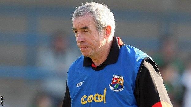 New Fermanagh manager Pete McGrath