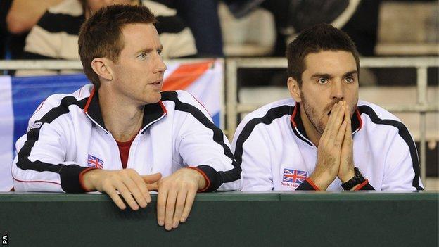 Jonny Marray (left) and Colin Fleming