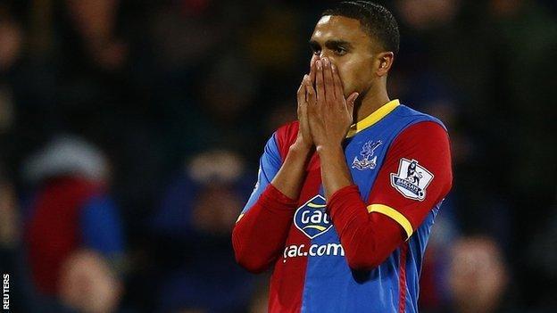 Crystal Palace midfielder Jerome Thomas
