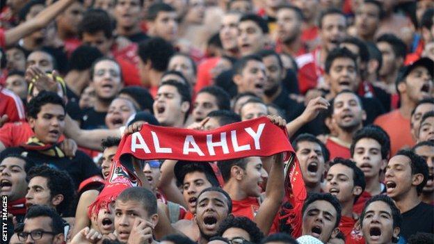 Al Ahly fans