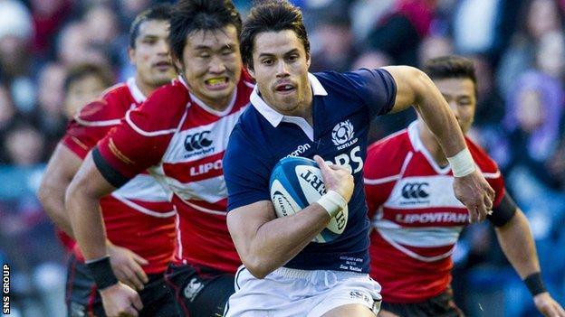 Scotland beat Japan 42-17 at Murrayfield