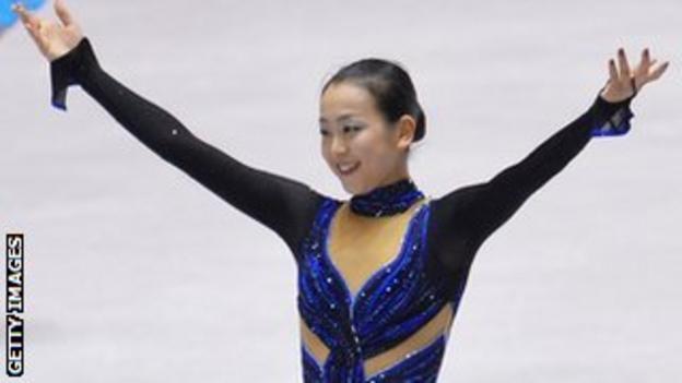 Japan's Mao Asada wins in Paris