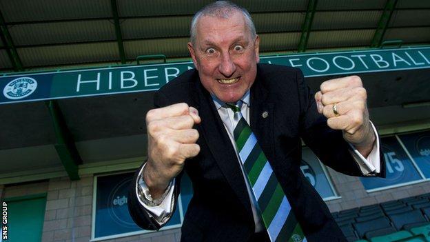 New Hibernian manager Terry Butcher