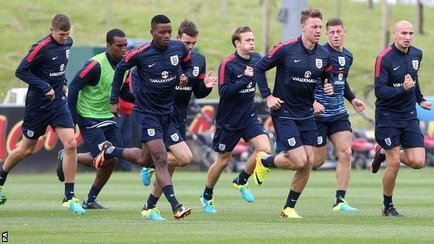 England Under-21 team