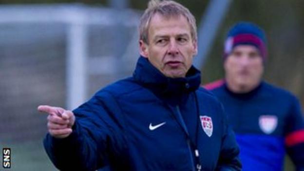 USA head coach Jurgen Klinsmann