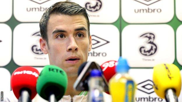 Republic of Ireland's Seamus Coleman is excited to be working under Roy Keane
