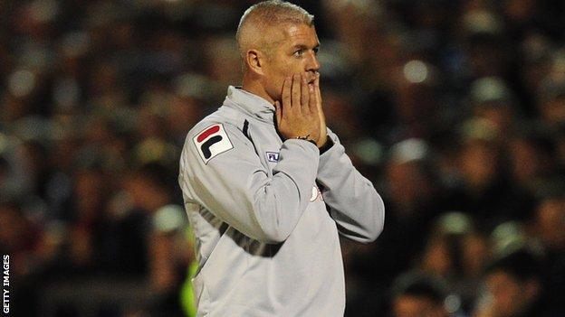Carlisle manager Graham Kavanagh