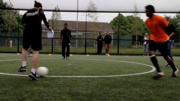 Street League Coaching Session