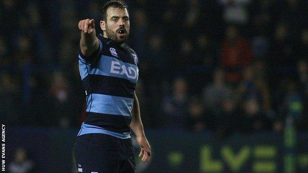 Cardiff Blues Simon Humberstone