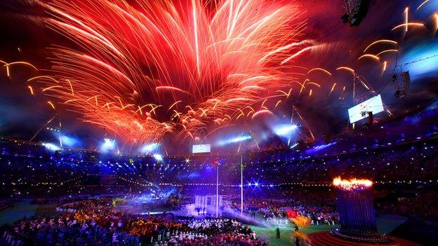 Closing ceremony of the London Paralympics