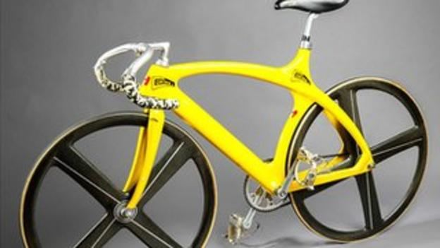 Erika Salumae's 1992 bike
