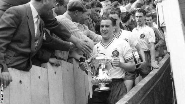 Nat Lofthouse at 1958 FA Cup final