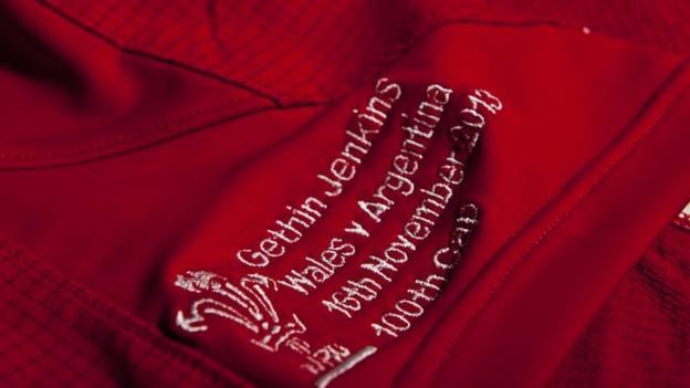 Gethin Jenkins Wales shirt