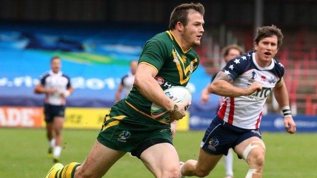 Rugby league world cup australia 62 0 usa bbc sport - English rugby union league tables ...