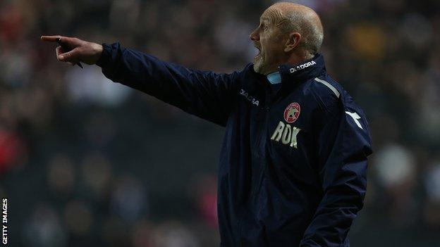 Walsall assistant Richard O'Kelly