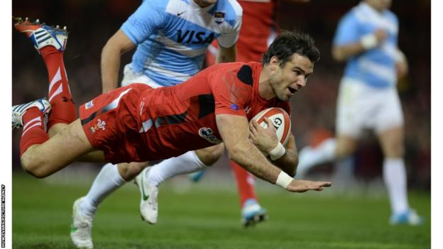 Wales Mike Phillips