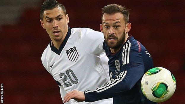Steven Fletcher (right) has returned to Sunderland
