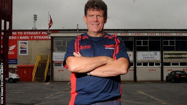 Scarlets Gareth Jenkins