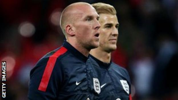 John Ruddy and Joe Hart