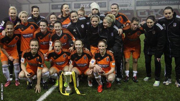 Glasgow City Scottish Cup winners
