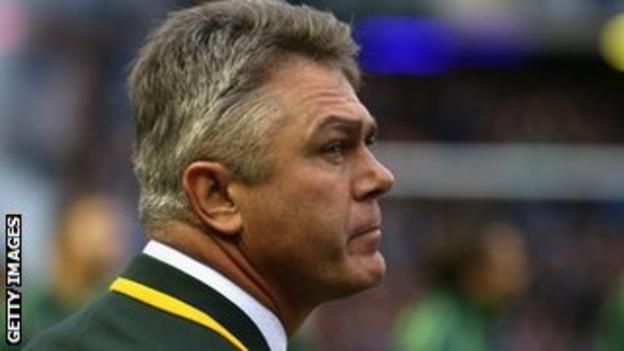 South Africa coach Heyneke Meyer