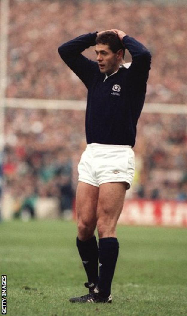 Former Scotland captain Gavin Hastings