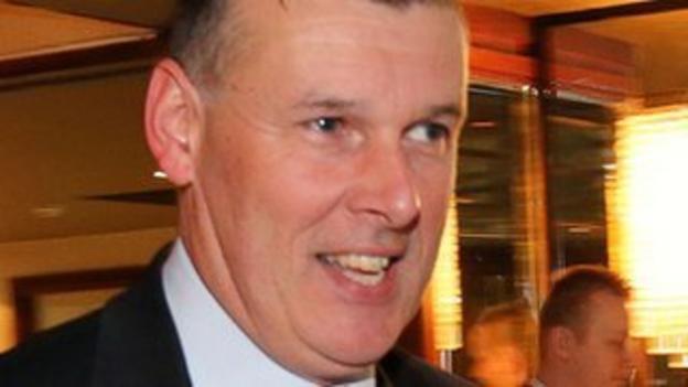 IRFU chief executive Philip Browne