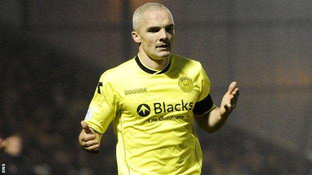 St Mirren captain Jim Goodwin