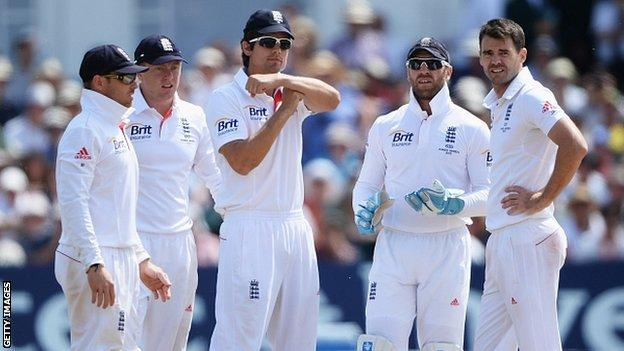 Alastair Cook sends for a review
