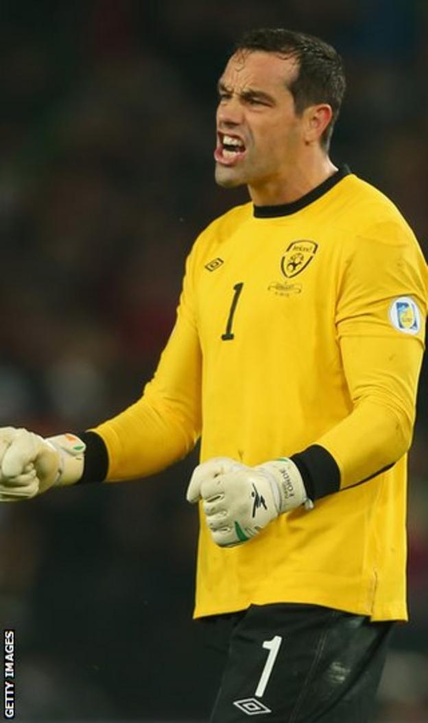 Millwall and Republic of Ireland goalkeeper David Forde