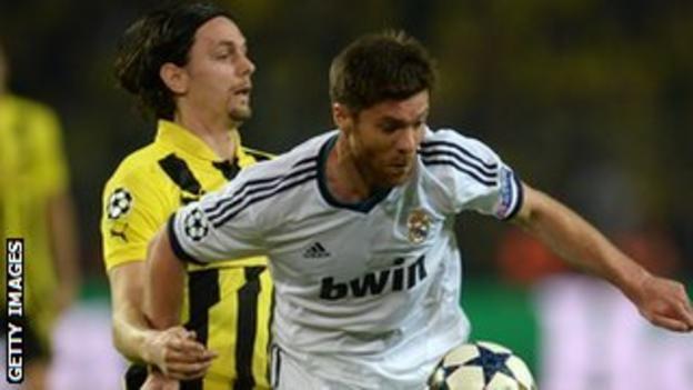 Real Madrid's Xabi Alonso