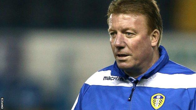 Bury manager Ronnie Jepson