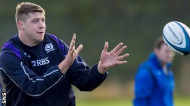 Grant Gilchrist in training