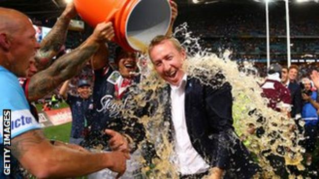 Sydney Roosters coach Trent Robinson