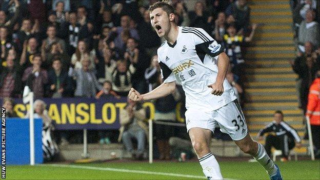Swansea's Ben Davies