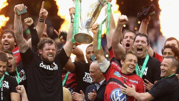 Toulon win the Heineken Cup