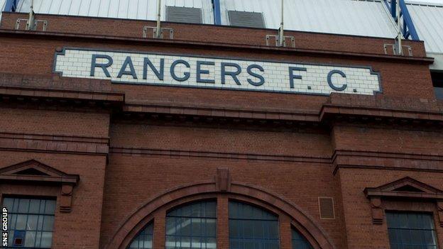Ibrox Stadium, Glasgow