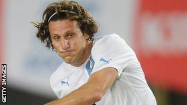 Diego Forlan spent two years at Old Trafford