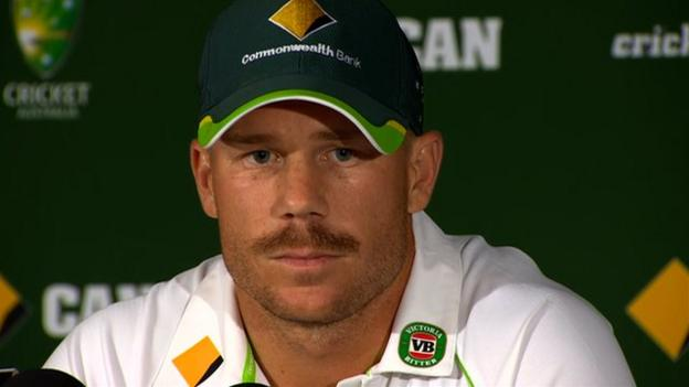 Ashes 2013-14: David Warner critical of 'poor and weak' Trott