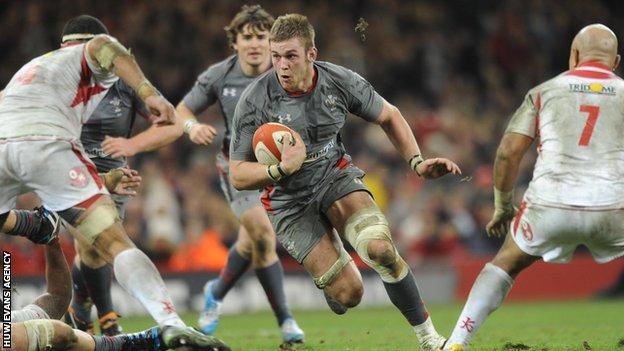 Wales flanker Dan Lydiate