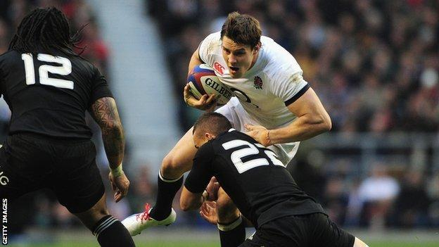England's Joel Tomkins will miss the start of the Six Nations