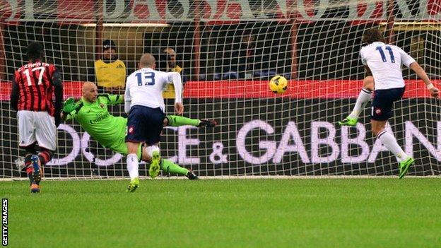 AC Milan v Genoa