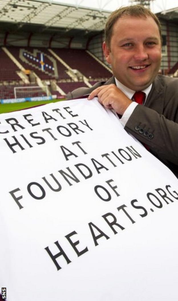 Ian Murray of the Foundation of Hearts