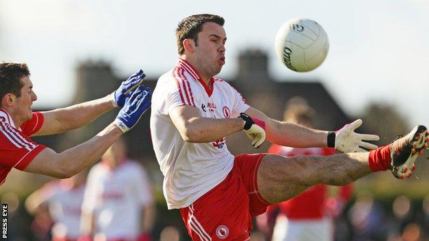 Tyrone attacker Kyle Coney will miss the first few months of the season