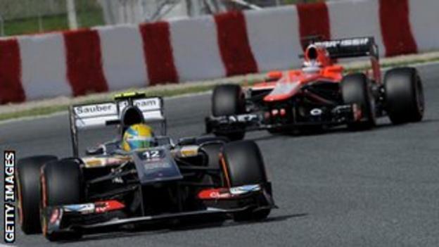 Sauber and Marussia