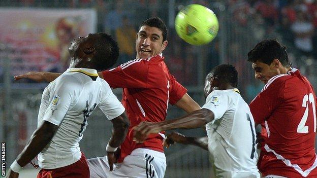 Egypt v Ghana in Cairo