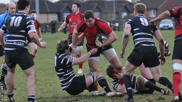 Redruth in action