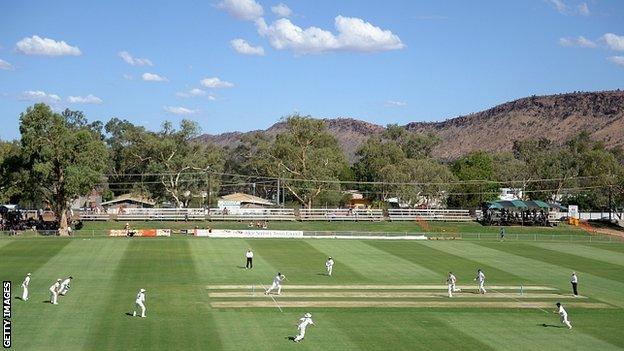 Traeger Park in Alice Springs