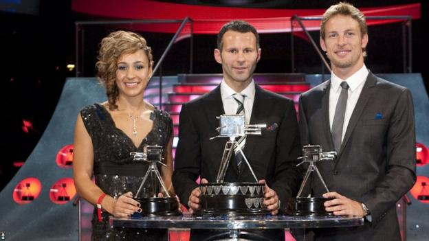 Ryan Giggs wins BBC Sports Personality of the Year in 2009